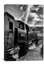 Old Steam Train, Canvas Print