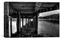 Jetty in Windermere, Canvas Print