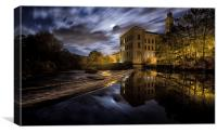 New Mill, Saltaire, Canvas Print