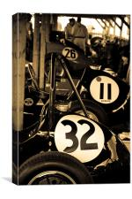 Racing Numbers, Canvas Print