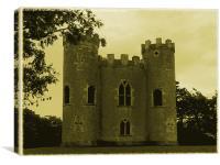 Blaise Castle Vintage, Canvas Print