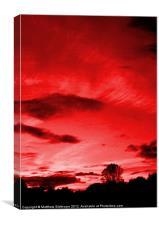 Scarlett Sky, Canvas Print