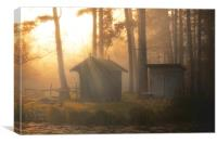 Mystic hut, Canvas Print