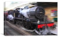 locomotive 53809, Canvas Print