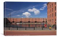 Albert dock, Liverpool, Canvas Print
