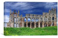 Whitby Abbey, Yorkshire., Canvas Print