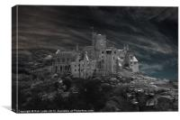 St Michaels Mount, Canvas Print