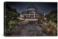 Sefton Park Palm House, Canvas Print