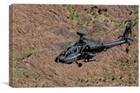 Boeing AH-64 Apache Longbow, Canvas Print