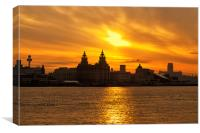Good Morning Liverpool, Canvas Print