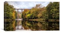 Pontcysyllte Aquaduct, Llangollen Valley  , Canvas Print