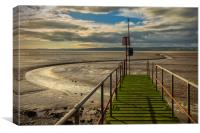The River Dee Estuary, West Kirby, Canvas Print