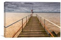 The Jetty  at West Kirby, Canvas Print