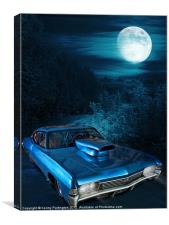 Midnight Impala, Canvas Print