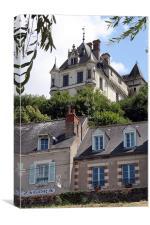 Chateau Chaumont Sur Loire, Canvas Print
