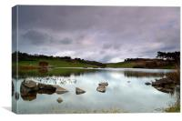 Spring Loch, Canvas Print