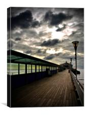 Bournemouth Pier, Bournemouth, Dorset, Canvas Print