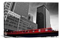 Canary Wharf, City of London, Canvas Print