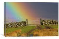 Rainbow Gate, Canvas Print
