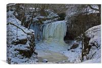 Freeze Fall, Canvas Print