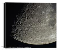 Moon Shot, Canvas Print