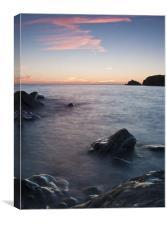 Dusky Coast, Canvas Print
