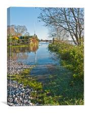 Autumn Floods, Canvas Print