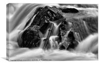 Falls of Feugh, Canvas Print