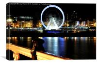 The Eye At Night, Canvas Print