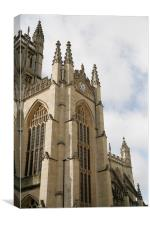 Bath cathedral once again, Canvas Print
