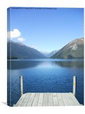 Lake Rotoiti New Zealand, Canvas Print