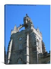 King's College Chapel Aberdeen, Canvas Print