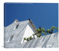 Andalucian house, Canvas Print