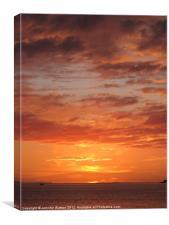 Port Henderson Sunset II, Canvas Print