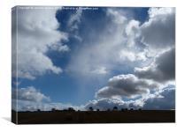 Autumn Sky, Canvas Print