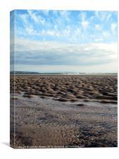 Sand hills, Canvas Print