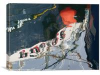 Orange Buoy, Canvas Print
