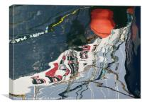 Orange Buoy 2, Canvas Print