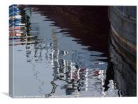 Harbour Reflections 1, Canvas Print