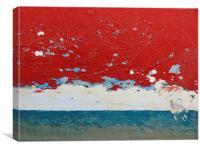 Cloudy Horizon, Canvas Print