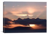Skye Sunset, Canvas Print