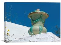 Andalucian Urn, Canvas Print