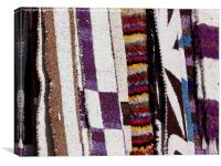 Rugs for sale, Andalucia, Canvas Print