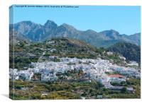 Frigiliana, Andalucia, Canvas Print