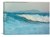 Surf's Up, Canvas Print