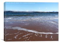 From Firemore beach, Canvas Print