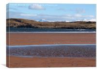 Firemore Beach 2, Canvas Print