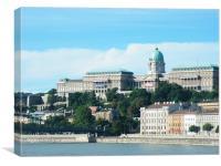 Budapest, Buda Castle, Canvas Print