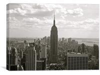 Manhattan, Canvas Print