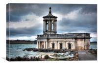 Normanton Church, Canvas Print